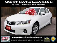2011 Lexus CT 200h | LEATHER | 1 OWNER |