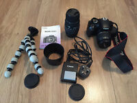 Canon 450D with extras