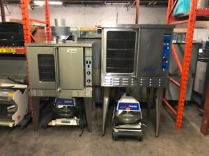 Two garland / imperial  gas convection ovens ( like new ! ) all stainless for only $1795