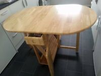 John Lewis butterfly table and one chair