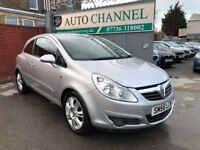 Vauxhall Corsa 1.4 i 16v Design 3dr (a/c)£2,785 p/x welcome FREE WARRANTY. NEW MOT