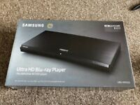 Samsung Ultra HD Blu Ray player (UBD-M9500)