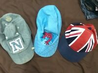 Boys caps/hats x 3 (H&M and next)