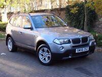 AA WARRANTY!! 56 REG BMW X3 2.0 20d SE 5dr, AWD, 4X4, 1 YEAR MOT, DIESEL, EXCELLENT MPG