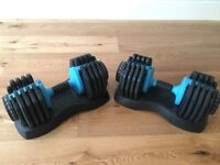 Men's Health Adjustable Dumbbell 25kg - Double