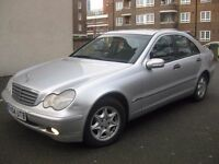MERCEDES C220 CDI AUTOMATIC DIESEL 2004 +++ BAAARGAIN £1450 ONLY +++ 5 DOOR SALOON