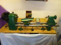 Record Power (Sheffield) Coronet Woodturning Lathe