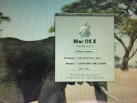 Macbook 2007 OSX Lion