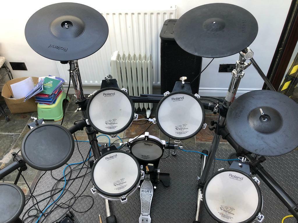 Roland td9 electronic drum kit set REDUCED PRICE   in Larne, County Antrim    Gumtree