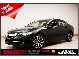2015 Acura TLX ELITE  GPS  CAMERA  BLUETOOTH  CUIR  TOIT OUVRANT