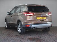 FORD KUGA 1.6 ECOBOOST 180 TITANIUM 5DR AUTO (brown) 2014