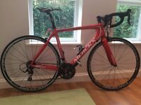Merckx EMX-1 carbon frame Road Bike - 54cm frame, triple crankset - excellent condition