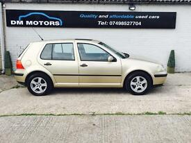 Vw golf 1.6 SE AUTO 2003 CHEAP AUTOMATIC