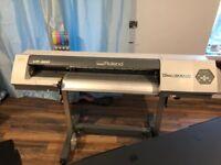 Roland VP 300 Eco Solvent Printer & Plotter canavas sign vinyl print and cut wide format £3950