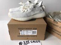 Adidas X Kanye West Yeezy Boost 350 V2 Cream White WOMENS UK5.5/EU38 2/3 CP9366 JD Receipt 100sales