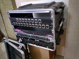 8U ABS rack / flight case