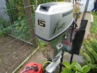 HONDA 15HP OUTBOARD BOAT ENGINE
