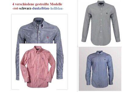 Ralph Lauren  Hemden - gestreift - 4 verschiedene Modelle - SALE
