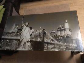 New York glass coffee table £55