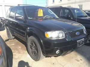 2005 Ford Escape Limited CALL 519 485 6050 CERTIFIED