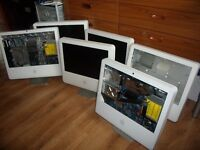 6 Apple iMacs for spares or repair
