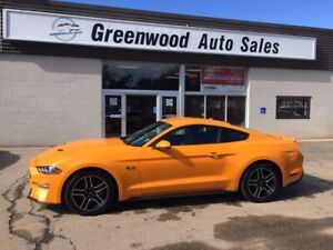2018 Ford Mustang GT Premium LEATHER! HEATED SEATS! AWESOME C...