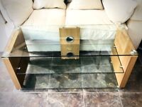 Modern TV Stand. Extremely solid heavy TV unit.