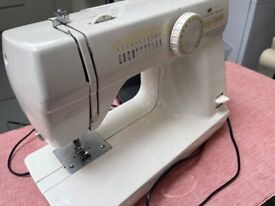 Fully functioning sewing machine