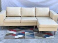 Bo Concept Corner Sofa Light Beige | RRP £3,315