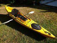 Ocean Kayak, Trident 4.3 Ultra - Great for fishing, or just enjoying the coast.