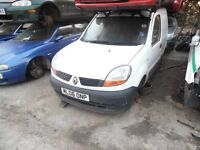 2006 RENAULT KANGOO SL 17 DCI (MANUAL DIESEL)(FOR PARTS ONLY)