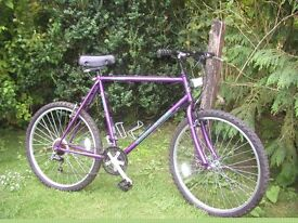 claud butler 22.5 in frame 21 speed,tidy bike,new tyres,runs well