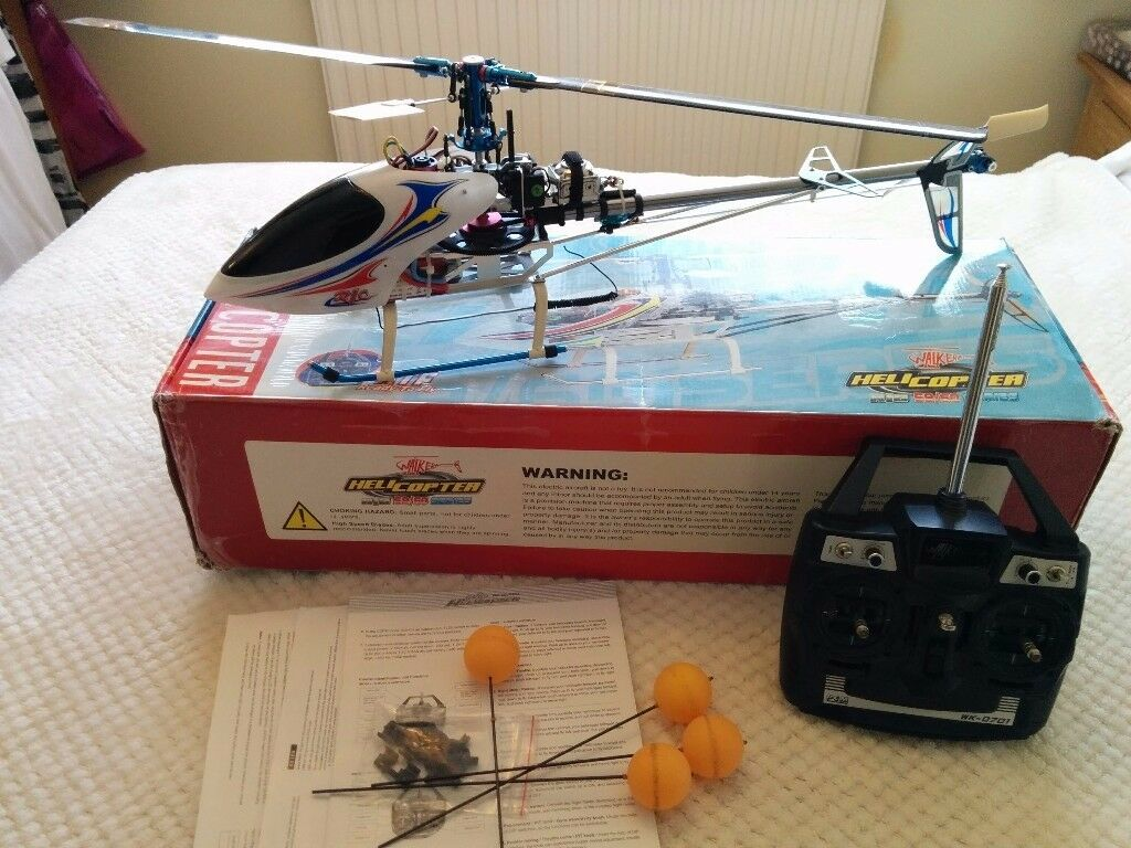Walkera HM 60B RC Helicopter plus lots of spares