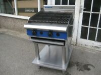 Catering 2 burner char grill Blue Seal G594-LS nat gas.