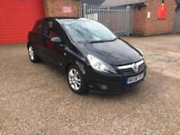 Vauxhall corsa 2008 1.2 Black sxi Salvage damage 3 dr 1.4 5 design