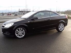 VAUXHALL ASTRA TWIN TOP 1.9CDTi DESIGN, 58/08, ONLY 80K, FSH, LONG MOT, EXCELLENT CONDITION..