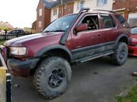 Vauxhall frontra on and off road monster