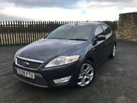2009 09 FORD MONDEO TITANIUM X 2.0 TDCi *DIESEL* 6 SPEED MANUAL - GOOD EXAMPLE - HALF LEATHER!