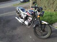 Lexmoto Arrow 125 motorbike - One owner