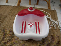 foot spa never been used