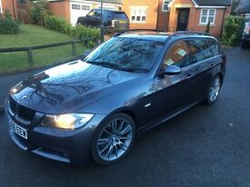 BMW 330d Msport touring. FSH (lots of main dealer) with receipts including 6 replacement injectors