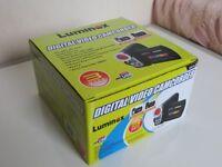 A NICE BOXED LUMINOX DVT-300 DIGITAL CAMCORDER , MINT