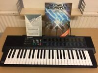 Casio CA-301 Electric Keyboard, in Good Working Conditon, with Manual Learning Book and Book Stand.