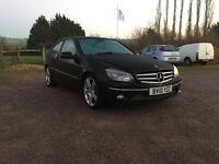 Mercedes Benz CLC 180 Kompressor Sport 1.8 Petrol Automatic 2 Door Coupe 2010 Black