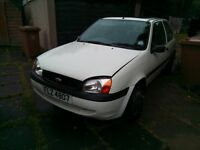 FOR URGENT SALE 52 PLATE FORD FIESTA MK4 COMPLETE CAR OR PARTS NO BATTERY MANY NEW PARTS RUNNING CAR