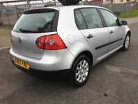 VW Golf 1.6 FSI 5DR (2005) Low Mileage