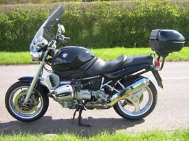 LOW MILEAGE BMW R850R SELL OR SWAP