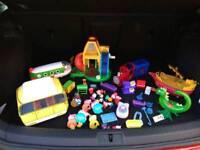 Peppa Pig various toys
