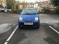 Daewoo Matiz SE 0.8, low mileage and long MOT