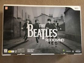 The Beatles Rockband Nintendo Limited Edition